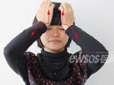 跟我学保健操系列76:做脸部体操 让面部紧肤排毒