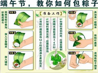 粽子制作过程详细图解