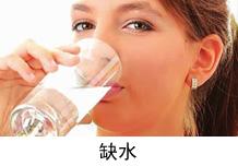 嘴唇干裂原因 缺水