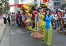 春节是越南最隆重的一个传统节日