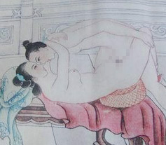 中国古代清朝最火爆的性爱姿势(图)