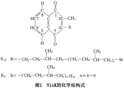 维生素k(vitamin k,简称vitk)又称抗出血维生素